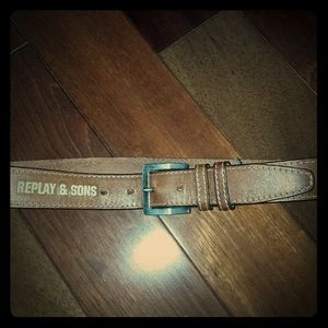 Ripley  & sons leather belt